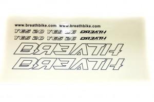 Наклейки Breath